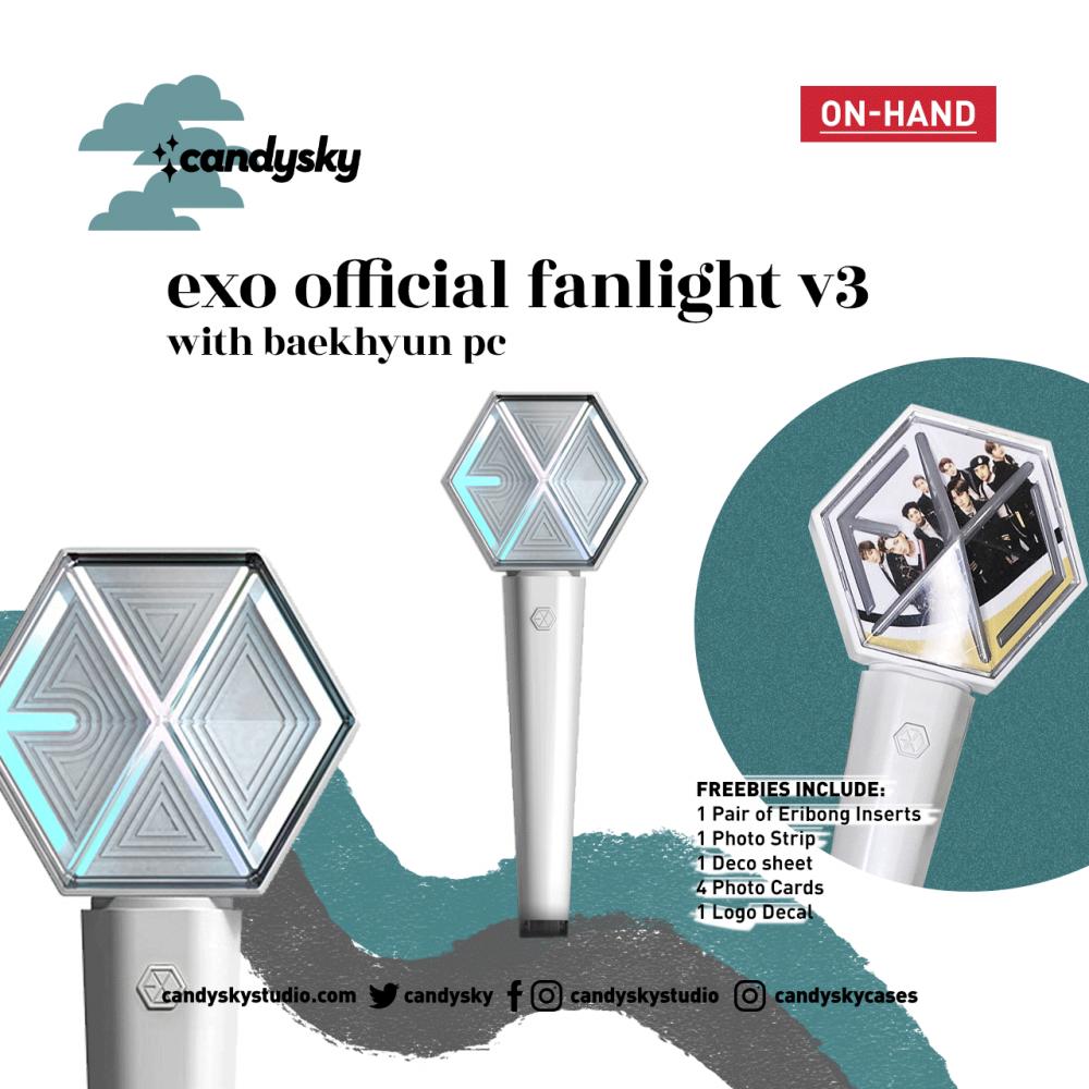 EXO Official Fanlight Version 3