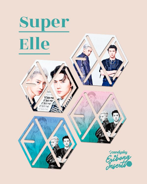EXO Eribong Inserts: EXO-SC Super Elle Collection
