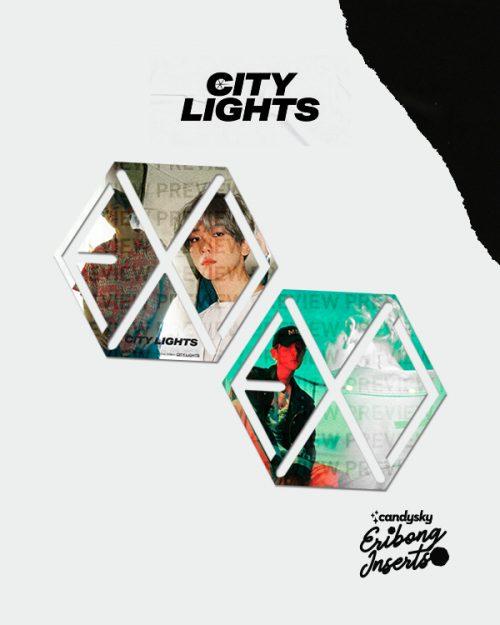 EXO Eribong Inserts: BAEKHYUN City Lights Collection