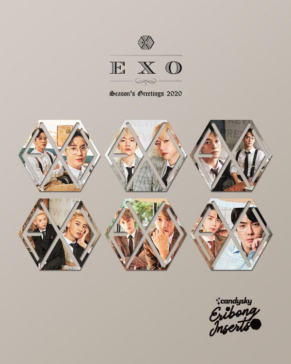 EXO Eribong Inserts: Seasons Greetings 2020 Collection