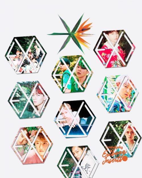 EXO Eribong Inserts: Kokobop Collection