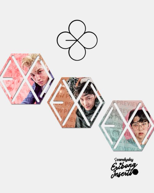 EXO Eribong Inserts: Lucky One Collection