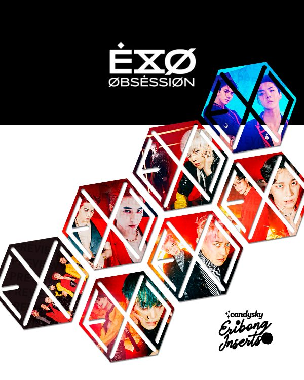EXO Eribong Inserts: X-EXO Collection
