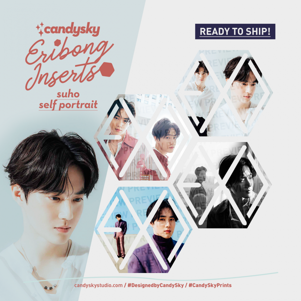 EXO Eribong Inserts: SUHO Self-Portrait Collection
