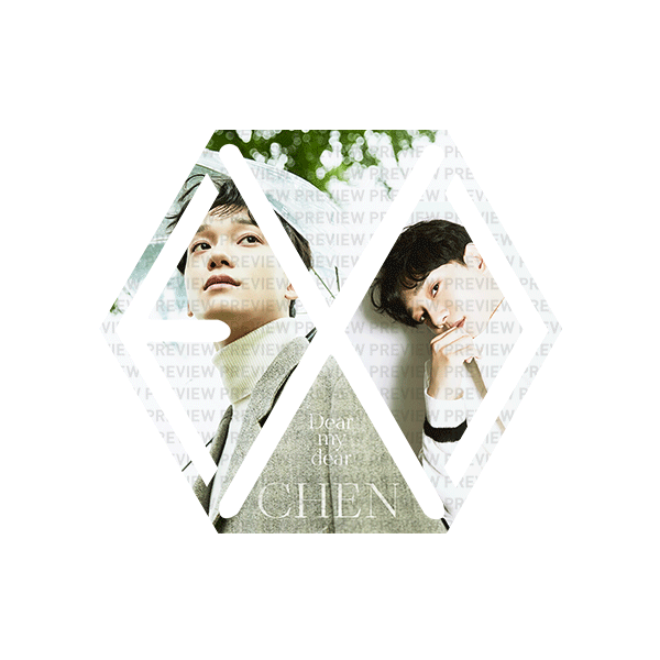 EXO Eribong Inserts – Chen Dear My Dear Ver 1
