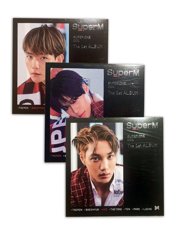 Super M Super One Signed LP Poster