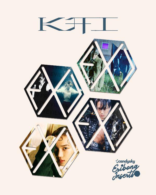 EXO Eribong Inserts: KAI 1st Mini Album Collection