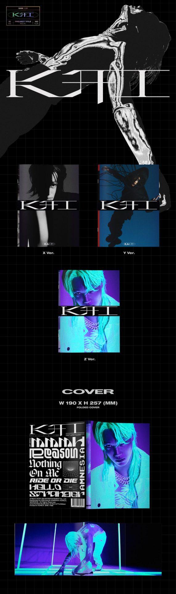 KAI 카이 The 1st Mini Album [KAI (开)] - Photobook Ver. ALBUM DETAILS-1