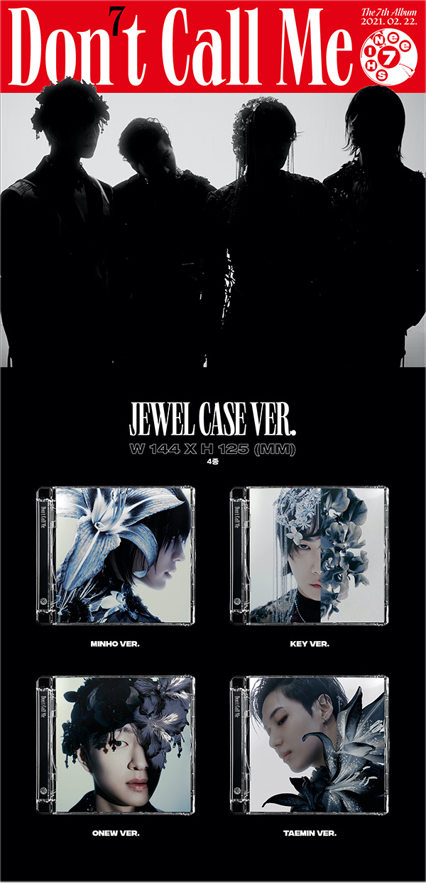 "SHINee 7th Album ""Don't Call Me"" Jewel Case Ver. DETAILS#1"