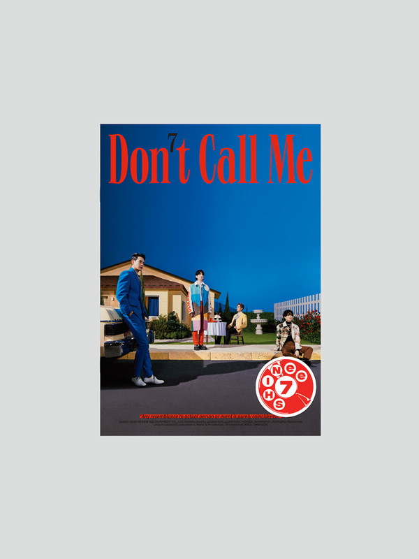 "SHINee 7th Album ""Don't Call Me"" Photobook Ver. (Fake Reality)"