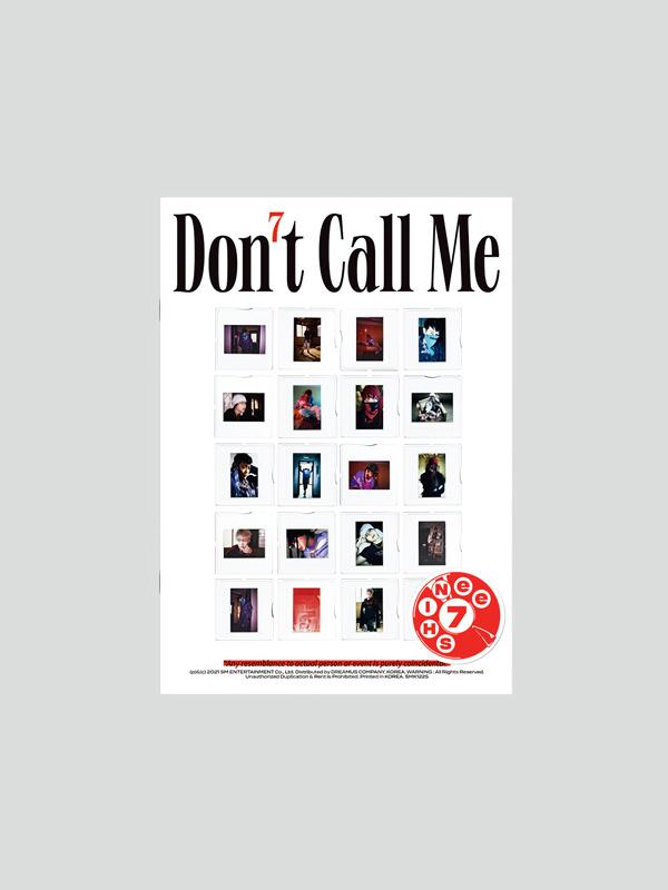 "SHINee 7th Album ""Don't Call Me"" Photobook Ver. (Reality)"
