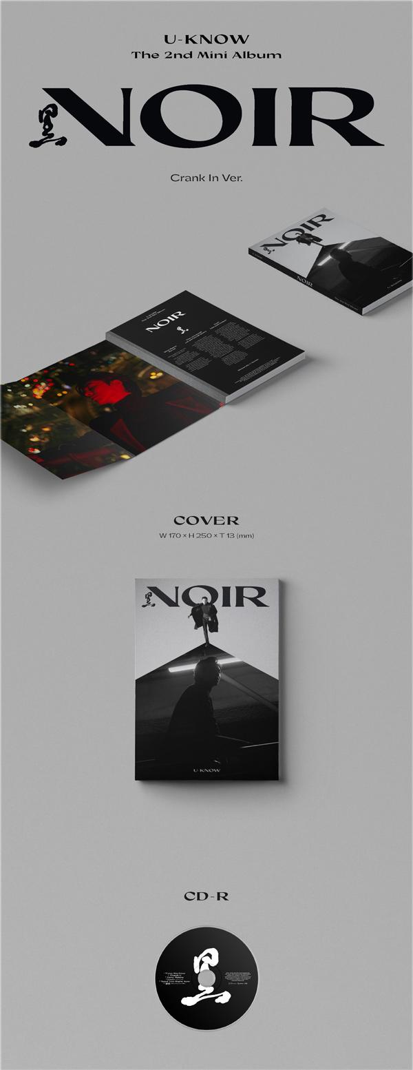 U-KNOW 유노윤호 The 2nd Mini Album [NOIR] Crank In Ver. - Album Details #1
