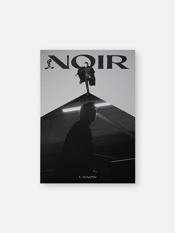 """U-KNOW 2nd Mini Album """"NOIR"""" (Crank In)"""