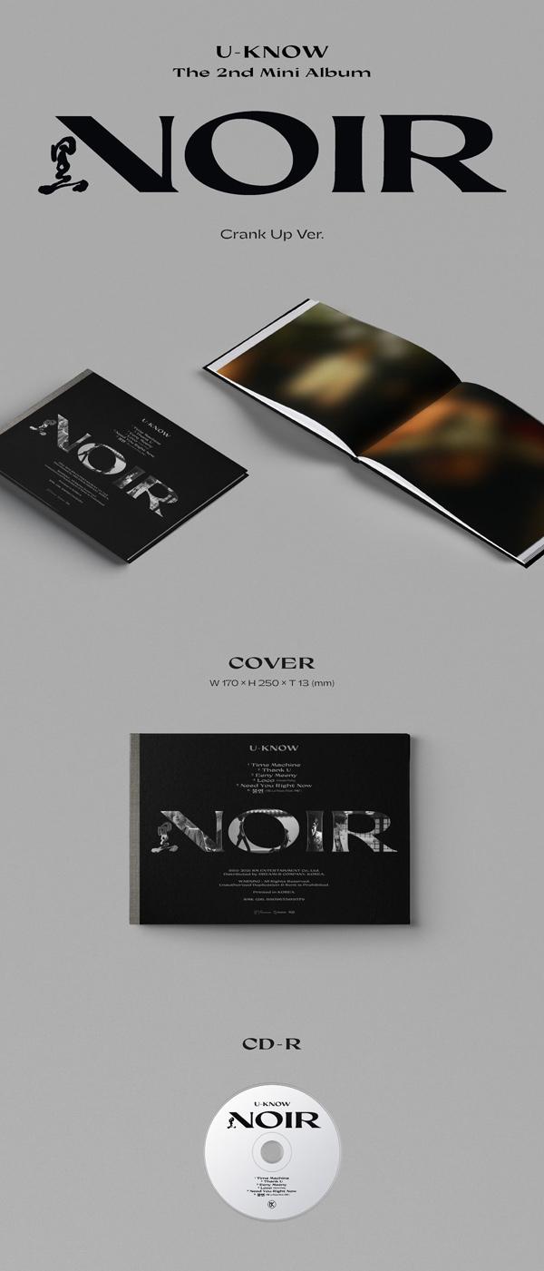 U-KNOW 유노윤호 The 2nd Mini Album [NOIR] Crank Up Ver. - Album Details #1