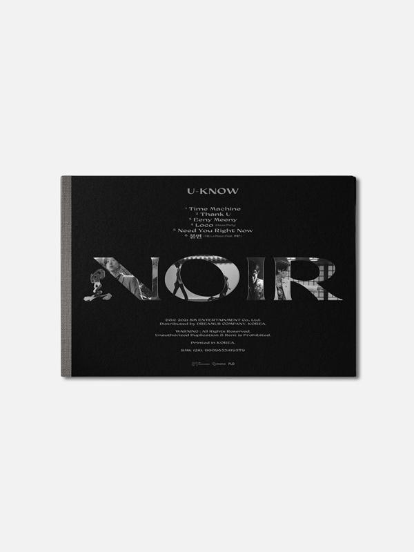 "U-KNOW 2nd Mini Album ""NOIR"" (Crank Up)"