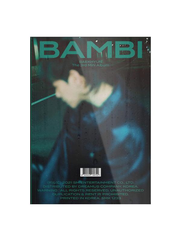 BAEKHYUN 3rd Mini Album BAMBI Night Rain