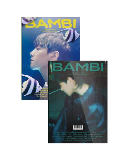 BAEKHYUN 3rd Mini Album BAMBI