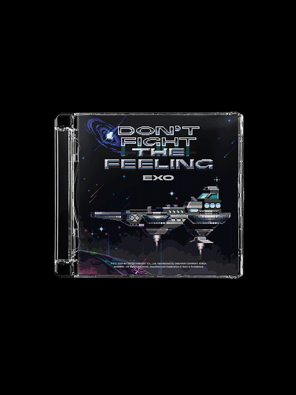 EXO Special Album Don't Fight The Feeling - Jewel Case Version