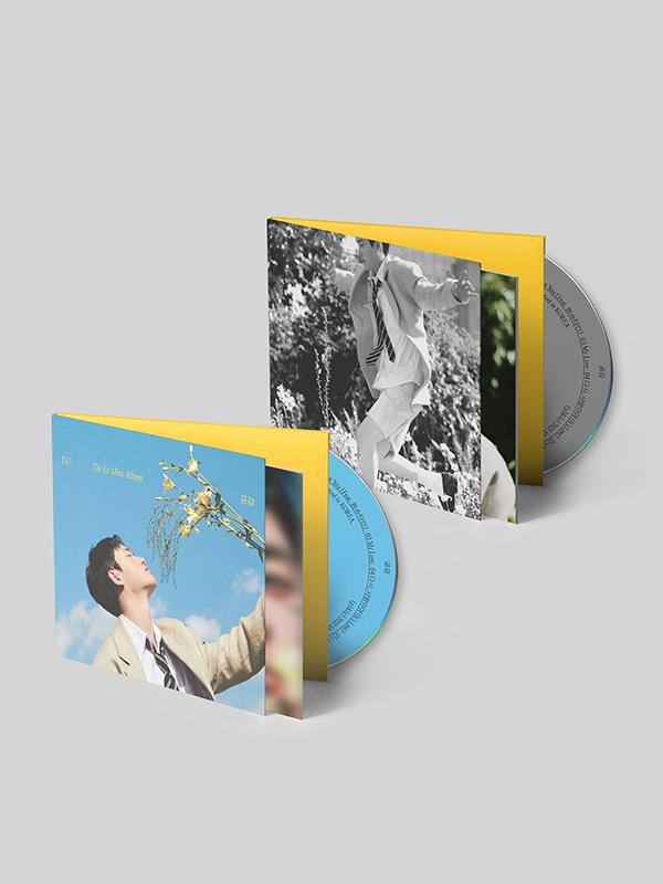 "D.O. 1st Mini Album ""Empathy"" Digipack Version Details"