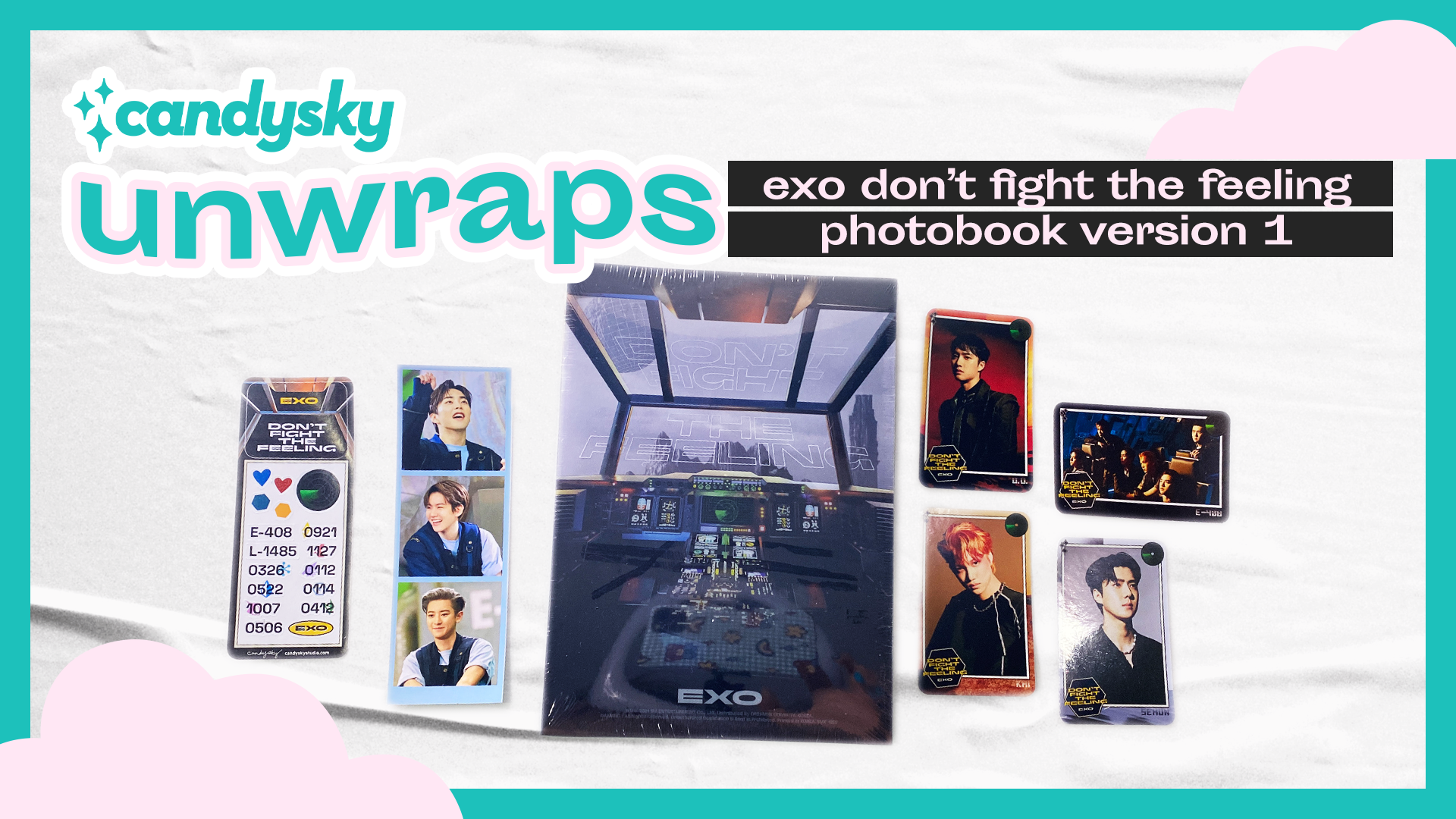CandySky Unwraps #01: EXO Don't Fight The Feeling Photobook Ver. 1