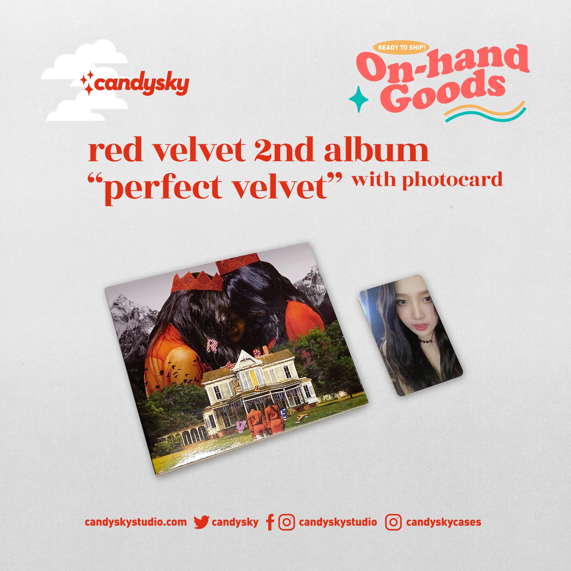 """Red Velvet 2nd Album """"Perfect Velvet"""" (Joy PC)"""