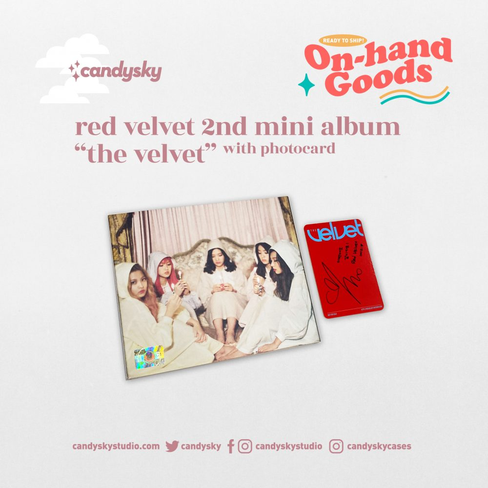 """Red Velvet 2nd Mini Album """"The Velvet"""" (Yeri PC)"""