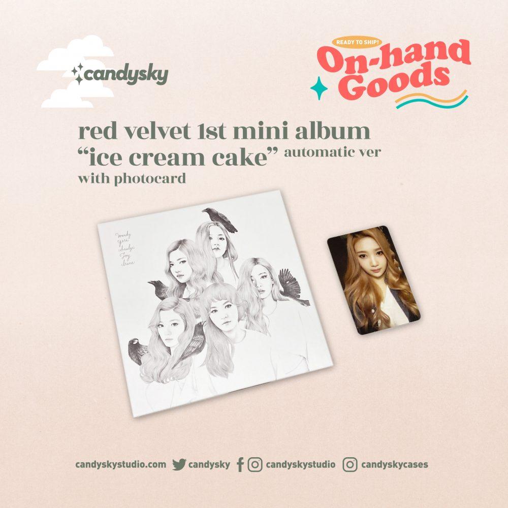 """Red Velvet 1st Mini Album """"Ice Cream Cake"""" Automatic Ver."""
