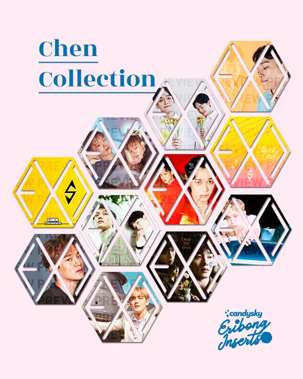EXO Eribong Inserts: CHEN Collection