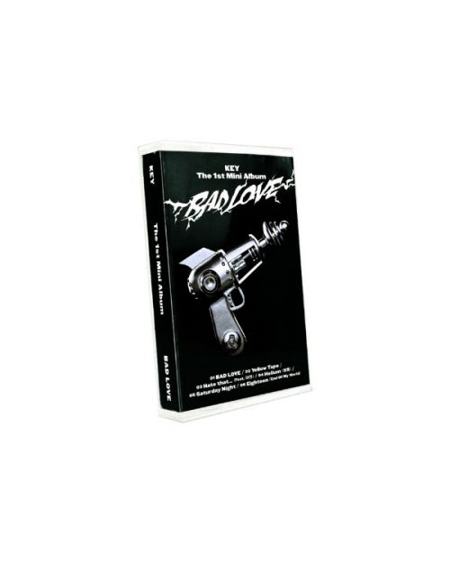 """Key 1st Mini Album """"Bad Love"""" Cassette Tape Ver."""