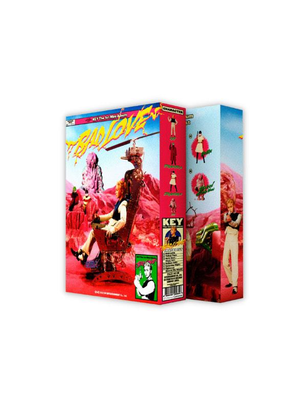 "Key 1st Mini Album ""Bad Love"" Photobook B – Box Set Ver."