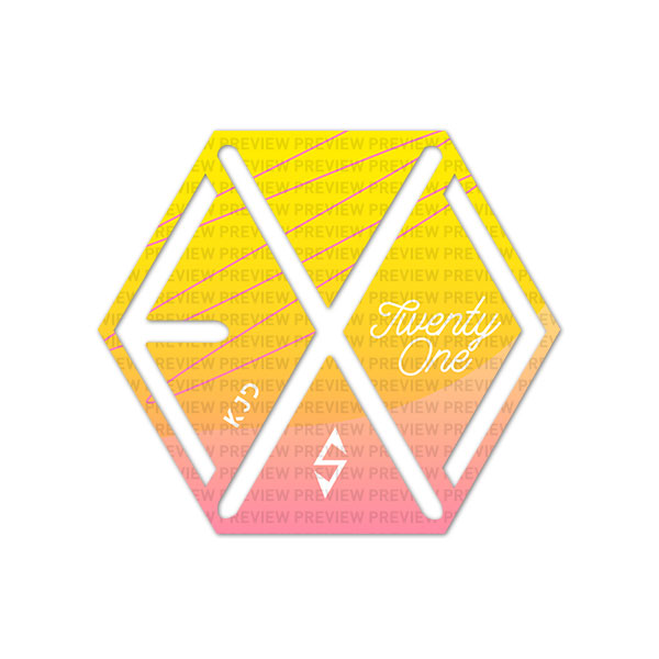 EXO Eribong Inserts: Pastel Gradient Collection - CHEN